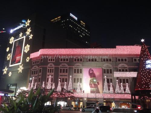 2016年新世界百貨店のクリスマスイルミネーション1
