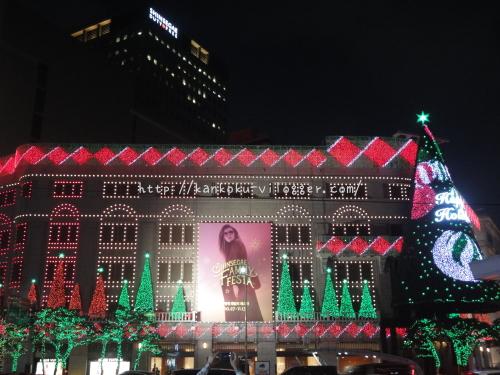 2016年新世界百貨店のクリスマスイルミネーション6