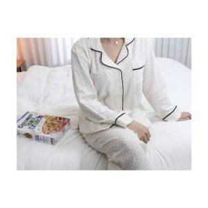 「スタートアップ」スジ着用パジャマ
