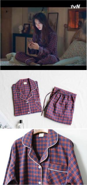 スタートアップ15話スジ着用パジャマ