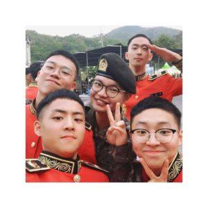 BrotherSuの兵役入隊